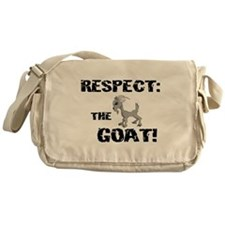 RESPECT the GOAT for Men Messenger Bag
