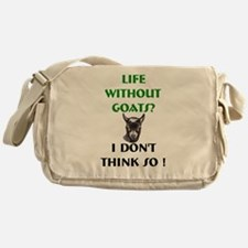 GOATS-Life Without Pygmy Goat Messenger Bag