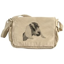 Nubian Goat Sketch Messenger Bag