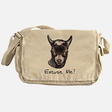Pygmy Goat Excuse me? Messenger Bag