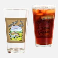 Goat-AcrossMiles Drinking Glass
