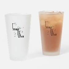 Soap Diva Drinking Glass