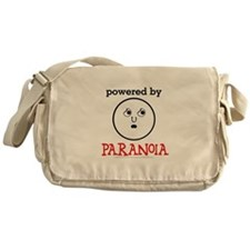 Powered By Paranoia Messenger Bag