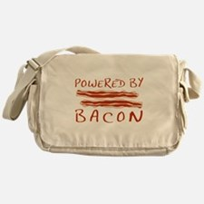Powered By Bacon Messenger Bag