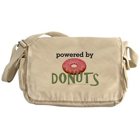 Powered By Donuts Messenger Bag