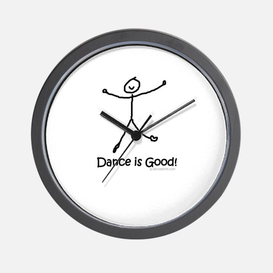 Dance is Good! Wall Clock