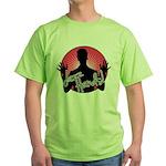 Jazz Hands! Green T-Shirt