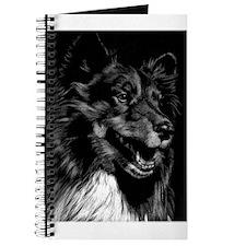 Dramatic Shetland Sheepdog Journal