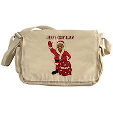 Merry Christmas Obama Messenger Bag