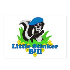 Little Stinker Bill Postcards (Package of 8)
