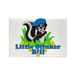 Little Stinker Bill Rectangle Magnet (10 pack)
