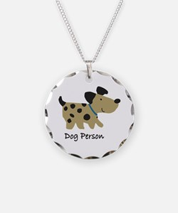 Dog Person Necklace