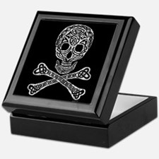 Celtic Skull and Crossbones Keepsake Box