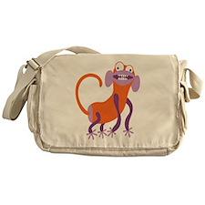 Loony Monkey Messenger Bag
