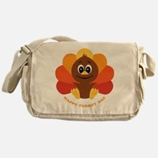 Happy Turkey Day Messenger Bag