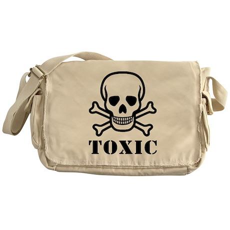 Toxic Sign Messenger Bag