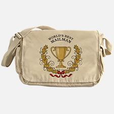 World's Best Mailman Messenger Bag