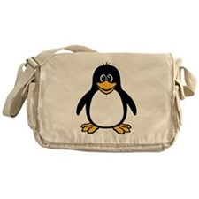 Funny Penguin Messenger Bag