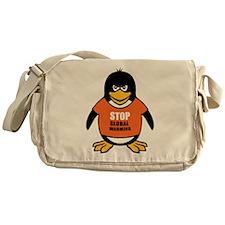 Stop Global Warming [Penguin] Messenger Bag