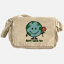 Happy Earth Day Messenger Bag