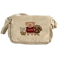 Holiday Dinner Campaign Messenger Bag