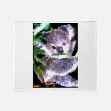 Baby Koala Throw Blanket