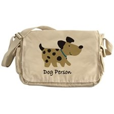 Dog Person Messenger Bag