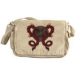 Double Dragon Messenger Bag