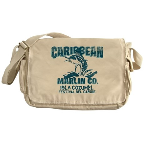 Caribbean Marlin Co. Messenger Bag