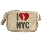I Love NYC Messenger Bag