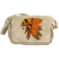 Indian Skull Messenger Bag