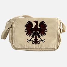 Polish Eagle Red and Black Messenger Bag