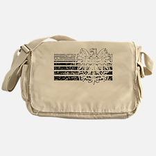 Polish Eagle Stripes Messenger Bag
