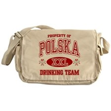 Polska Drinking Team Messenger Bag