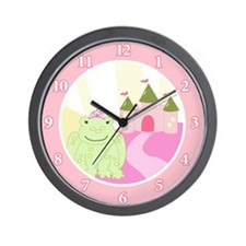 Frog Princess Fairytale Wall Clock