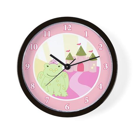 Frog Princess Fairytale Wall Clock