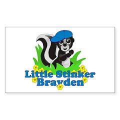 Little Stinker Brayden Decal