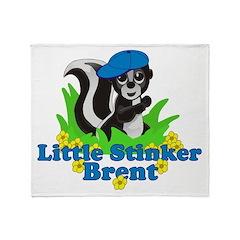 Little Stinker Brent Throw Blanket