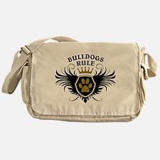 Bulldogs Rule Messenger Bag