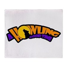 Howling Throw Blanket