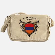 Number One Armenian Dad Messenger Bag