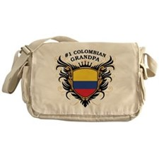 Number One Colombian Grandpa Messenger Bag