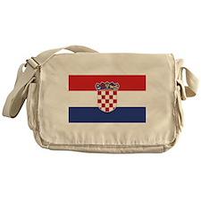 Flag of Croatia Messenger Bag