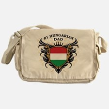 Number One Hungarian Dad Messenger Bag