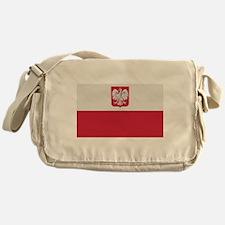 Flag of Poland Messenger Bag