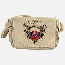 Number One Slovak Grandpa Messenger Bag