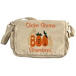 Gaelic Halloween Boo! Messenger Bag