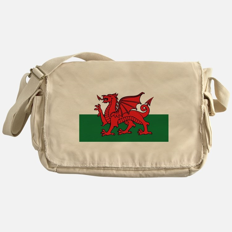 Flag of Wales Messenger Bag