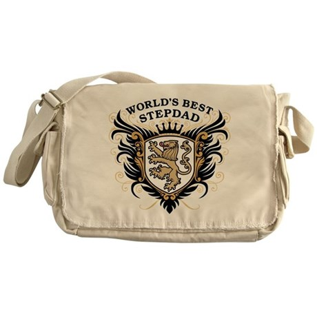 World's Best StepDad Messenger Bag