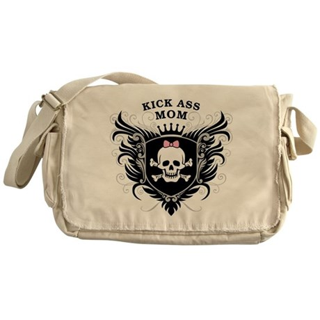 Kick Ass Mom Messenger Bag